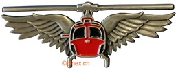 Bild von Swiss Helikopter Pilot-Wings Pin small