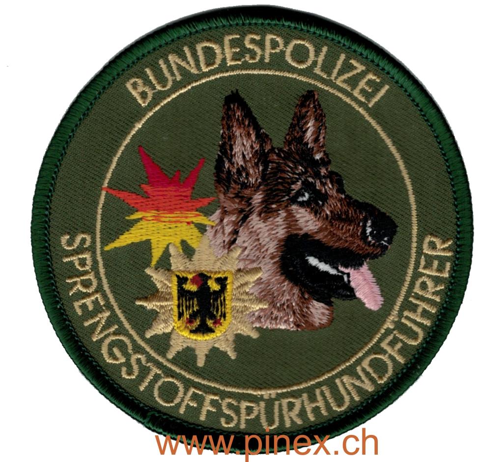Bundespolizei Sprengstoffspuerhundfuehrer Schaeferhund