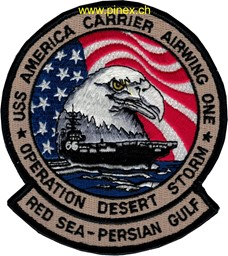 Bild von USS America Operation Desert Storm Patch