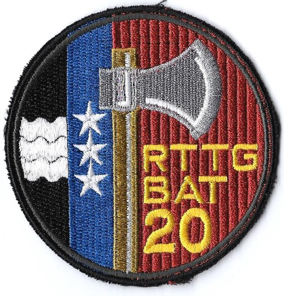 Photo de Rttg Bat 20 schwarz  Armee Badge